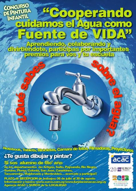 """""""Cooperando cuidamos el Agua como Fuente de Vida"""""""