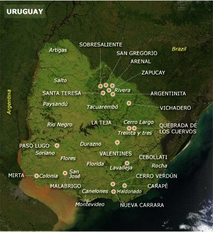 EL URUGUAY Y LAS PERFORACIONES MINERAS ATENCION!!!