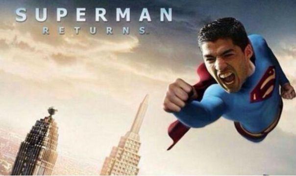 suarez-superman