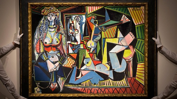 """""""Las Mujeres de Argel"""" De Picasso"""